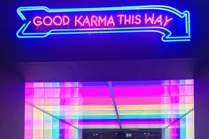 Good karma this way