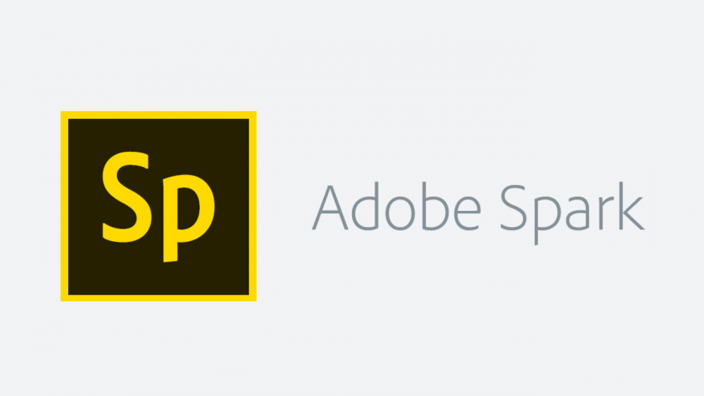 Sp Adobe Spark (logo and text)