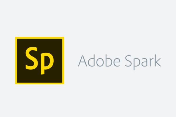 Sp Adobe Spark (logo and text)